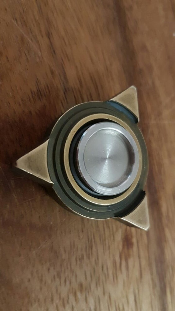 Image of TRI_force F3 brass spinner (hottie finish)