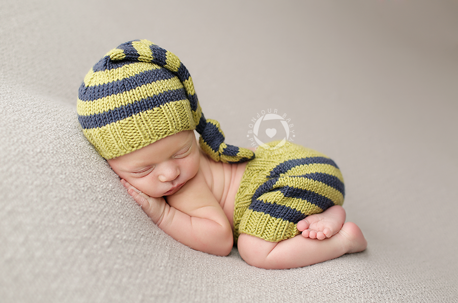 Image of Long Tail Hat with Matching Shorties