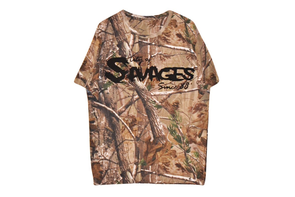 "Image of ""City of Savages"" Realtree® Logo T-Shirt"