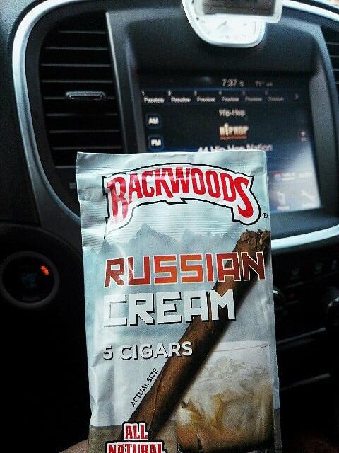 Russian Cream Shop  U2014 Backwoods Russian Cream Cigar 5 Pack