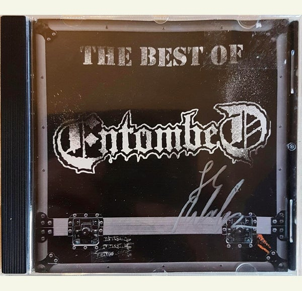 Image of CD (SIGNED) - Best of Entombed
