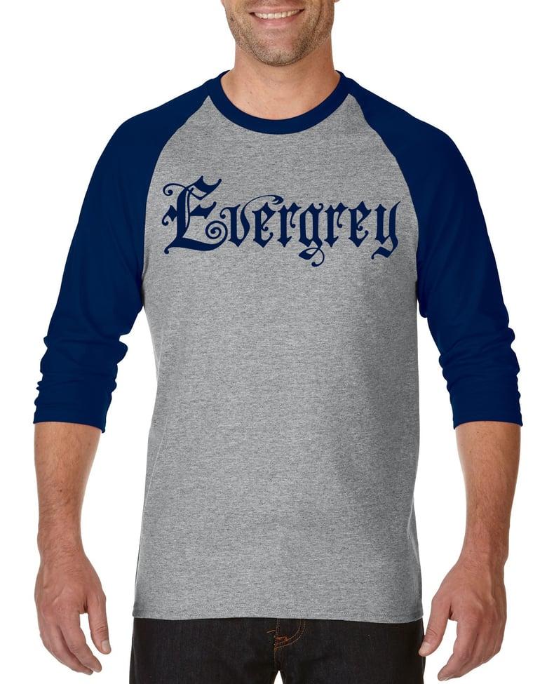 Image of Evergrey Navy / Grey Raglan
