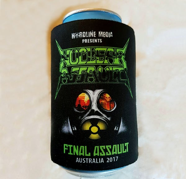 Image of STUBBIE COOLER - Nuclear Assault Australian Tour 2017