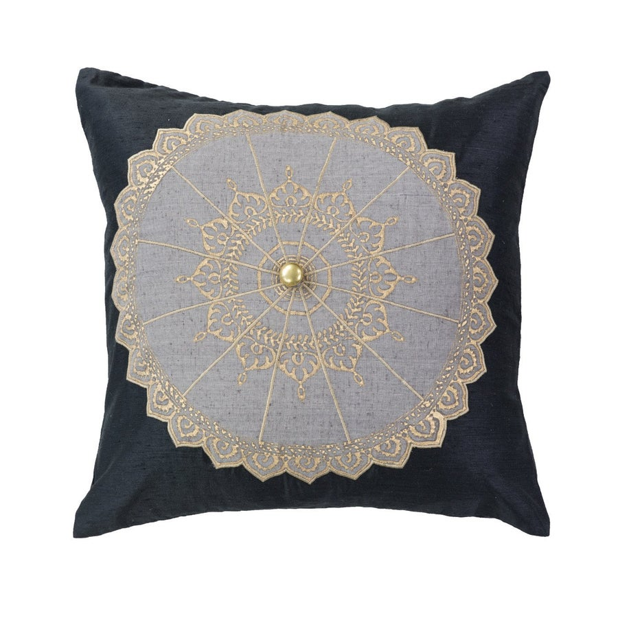 Image of Navy Umbrella Cushion