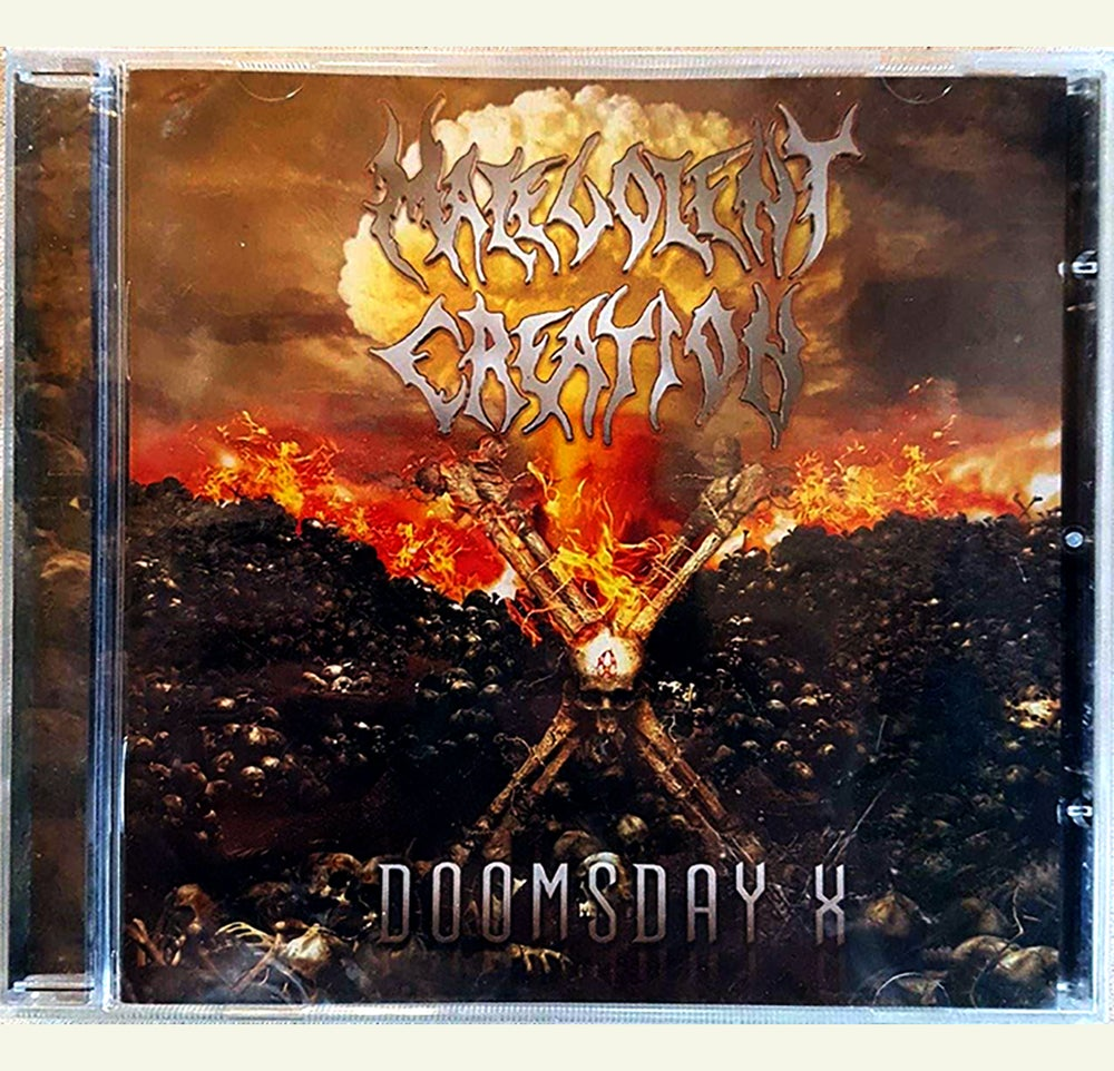 Image of CD - Malevolent Creation 'Doomsday X'