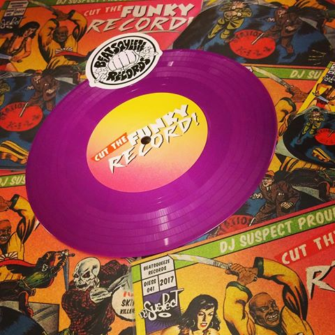 "Image of Beat Squeeze Records - Cut The Funky Record (7"" Purple Vinyl)"