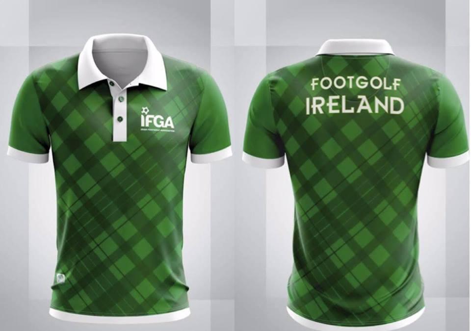 Image of FootGolf Ireland Jersey