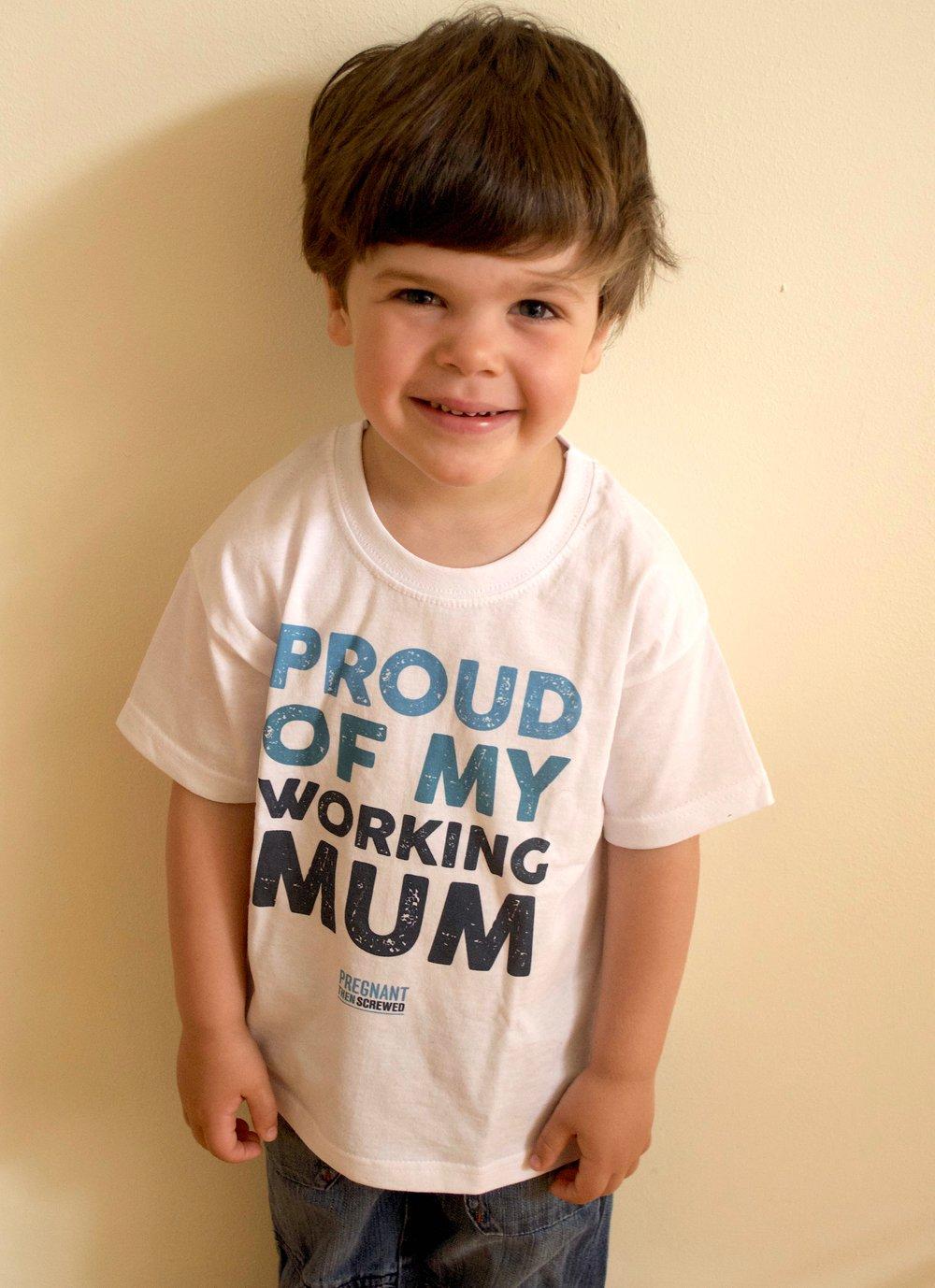 Image of Proud of my working mum T-Shirt