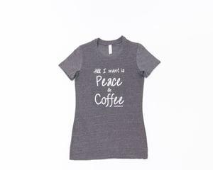 Image of Peace&Coffee tee