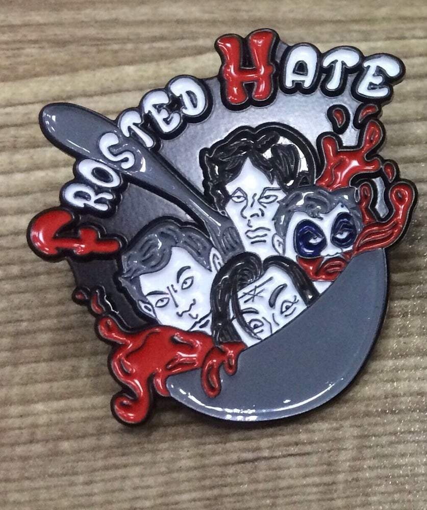Image of Frosted Hate Pin