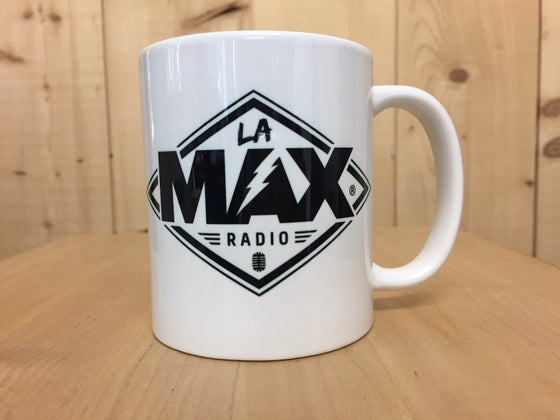 Image of MUG - LA MAX RADIO NOIR - FRAIS DE PORT INCLUS EN FRANCE