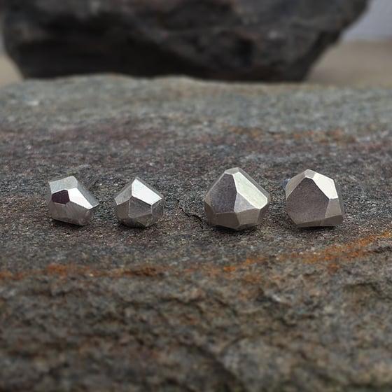 Image of Mini Lapis / Lapis Earrings