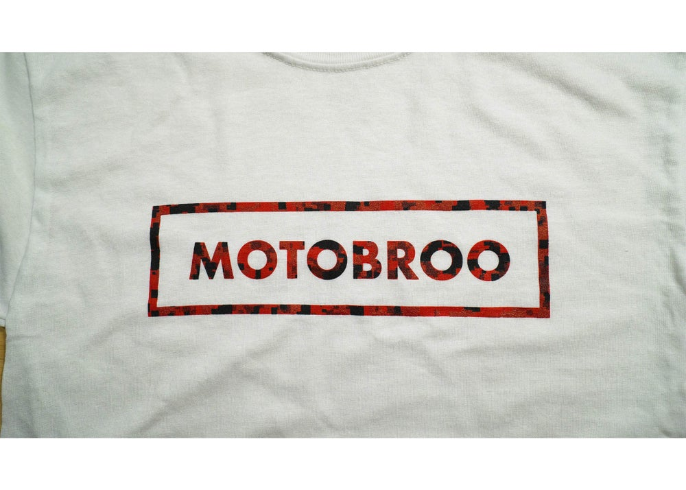 Image of MotoBroo Box Logo T-Shirt