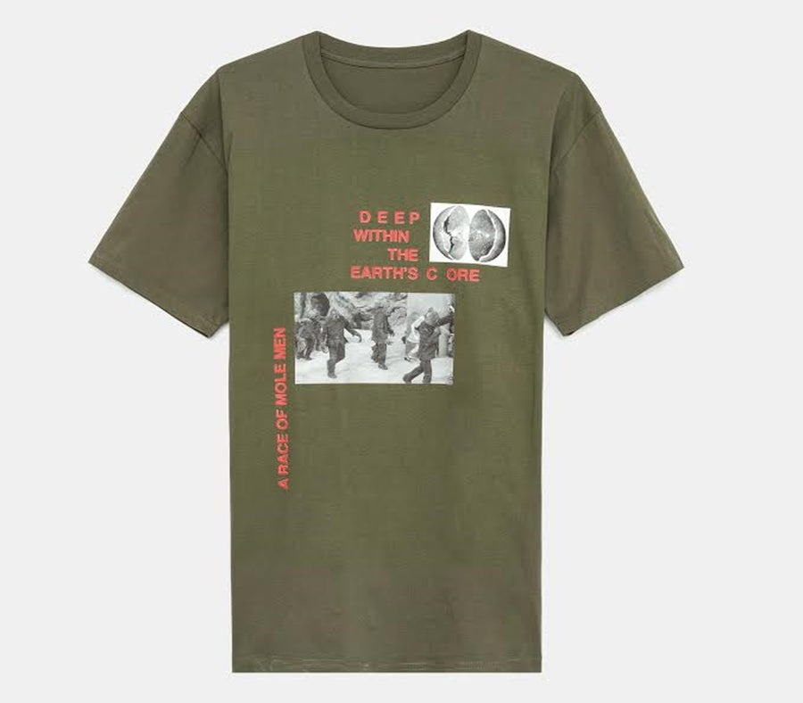 Image of Hollow Earth Tee (Olive)