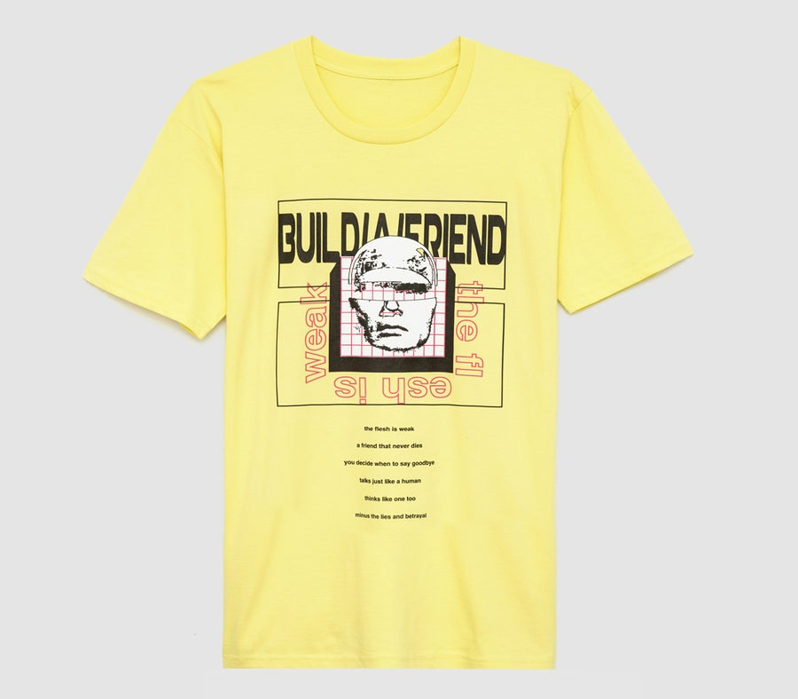Image of Synthetic Skin Tee (Yellow)