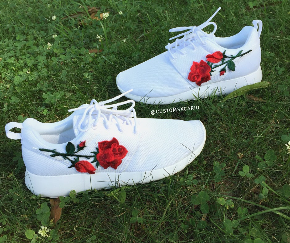 "Image of Custom Nike ""Rose"" One"