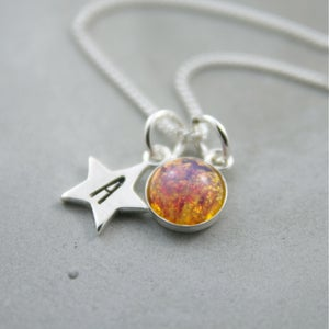 Image of Stellar - Personalised Sterling Silver Star Necklace