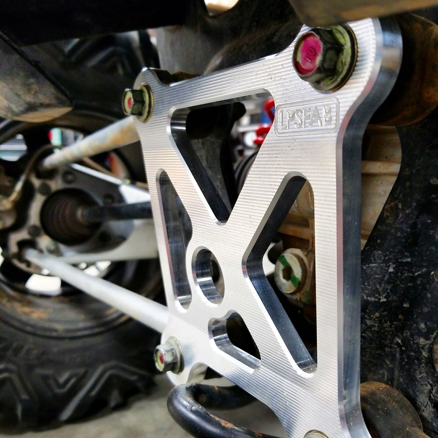 Image of LPS UTV RZR XP1000 and XPT Radius rod support bracket