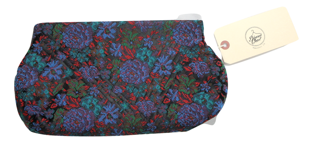 Image of Floral Clutch Purse