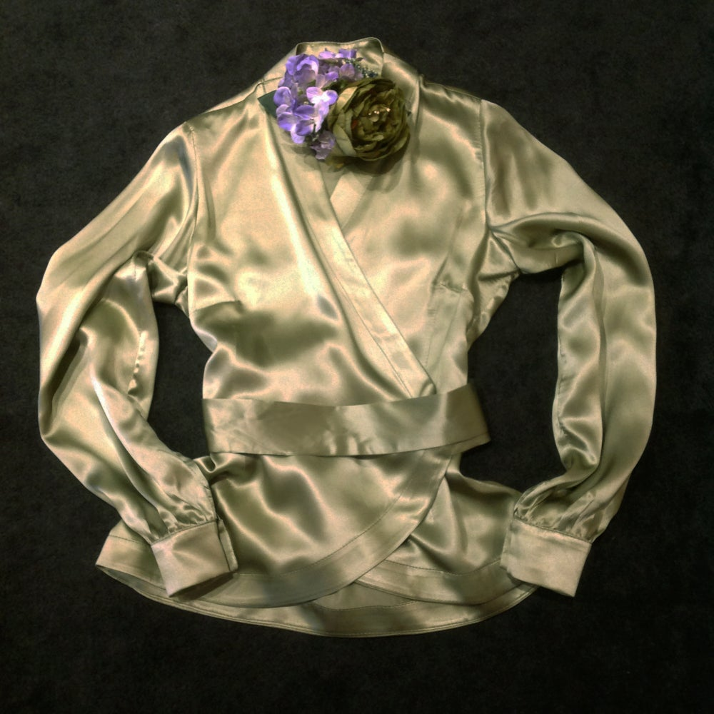 Image of UPPER EAST SIDE SILK BLOUSE 2