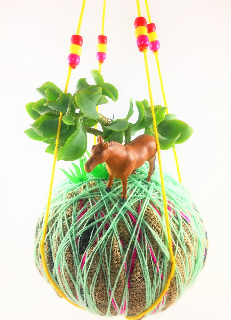 Image of KIDS CREATIVE KOKEDAMA WORKSHOP