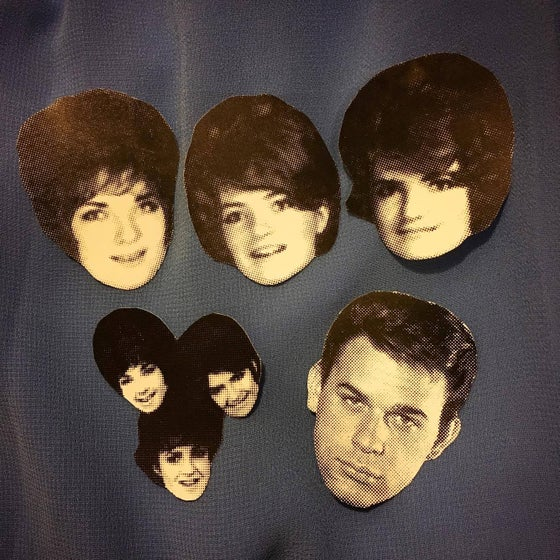 Image of The Tammys & Lou Christie sticker pack