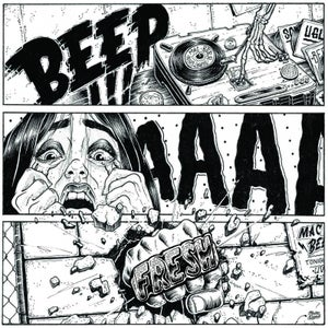 "Image of Beep ahhh Fresh - 7"" White Vinyl (Ugly Mac Beer)"