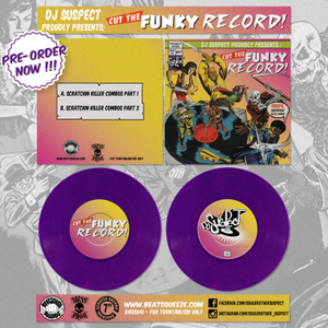 "Image of Cut The Funky Record - 7"" Purple Vinyl (DJ Suspect)"