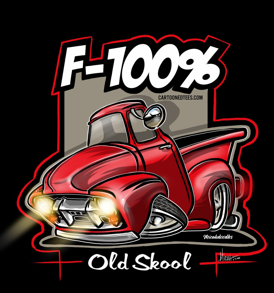 Image of F100% Red