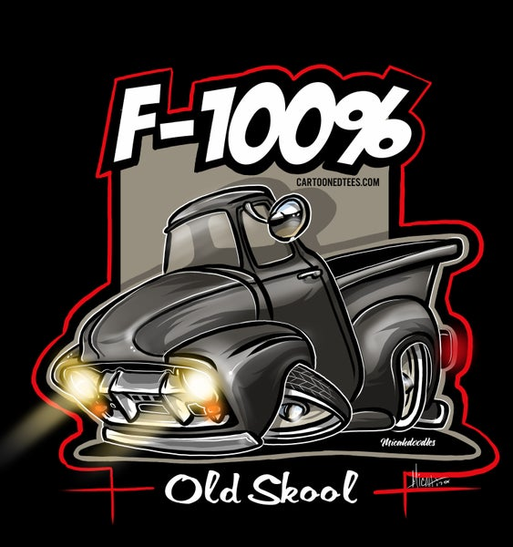 Image of F100% Black