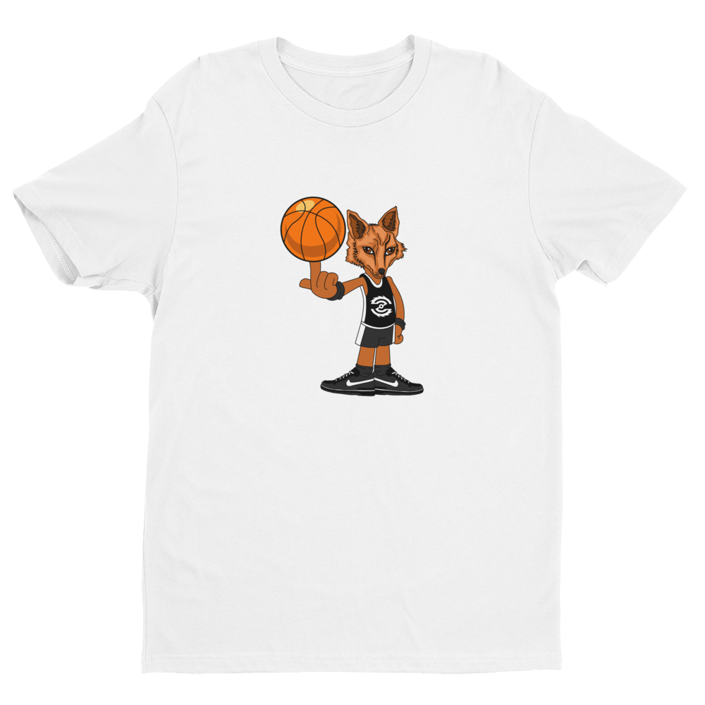 Image of Zonin' LifeStyle Wolf T-Shirt (White & Black Jersey)