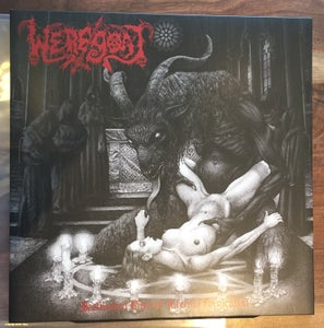 Image of WEREGOAT 'Pestilential Rites of Infernal Fornication' lp