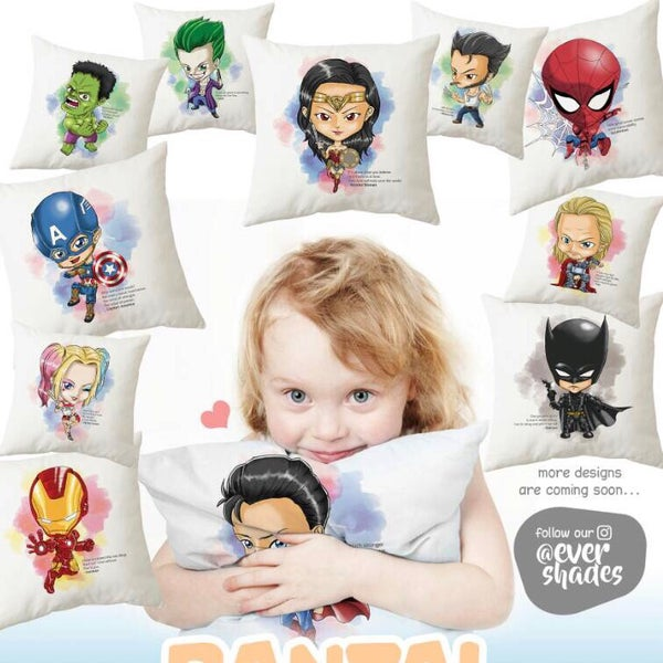 Image of Superhero Pillow