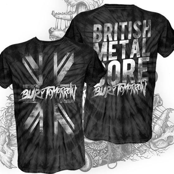 Image of British Metalcore Tie Dye T-Shirt