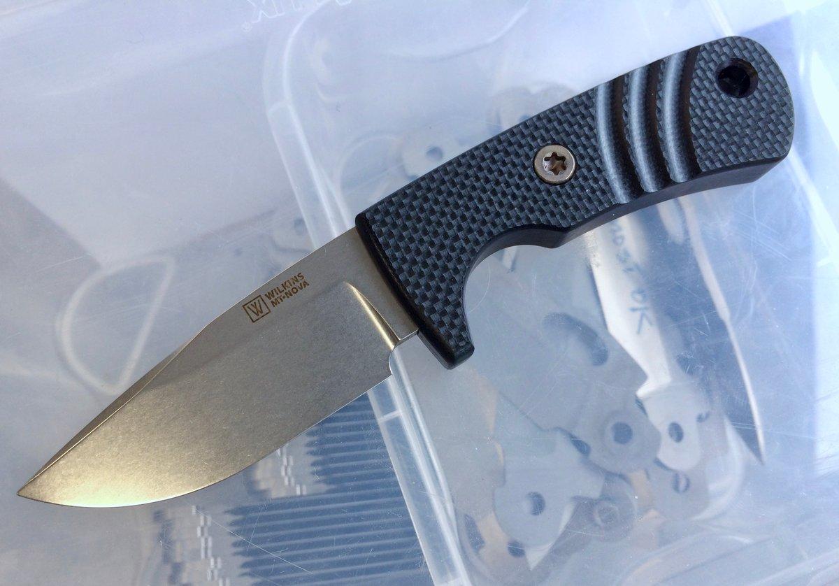 Mini Thorn Nova Black Textured G10