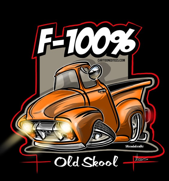 Image of F100% Mancave/Garage art Banner