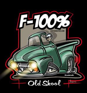Image of F100% Mancave/Garage art Banner