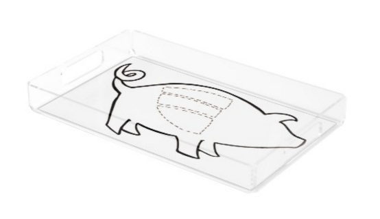 Image of Pork Ribs Serving Tray