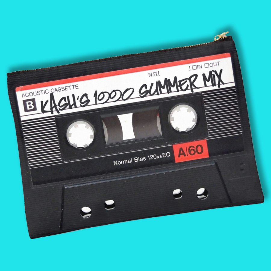 Image of Custom Summer Mixtape Clutch