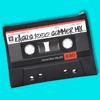 Custom Summer Mixtape Clutch