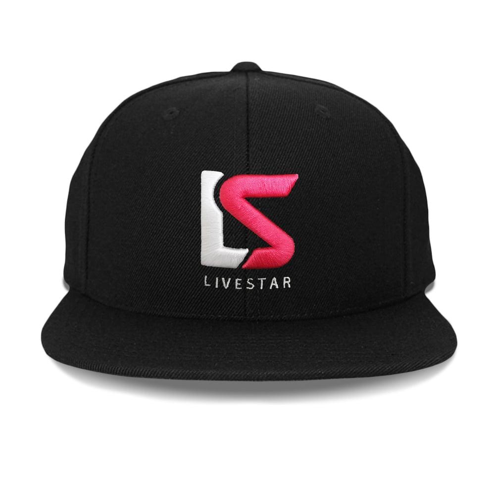 "Image of ""LS"" Logo Snapback Hat"