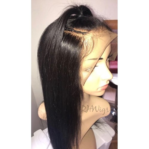 Image of Straight 360 Frontal 'Zoe' Wig