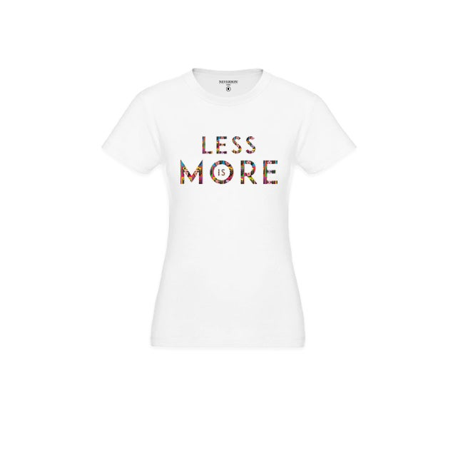 Image of T-shirt Femme Less Is More