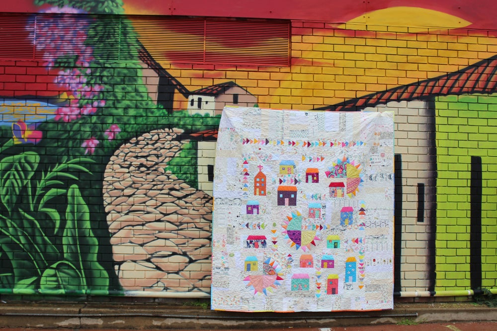 Image of Caribbean Dreams quilt pattern