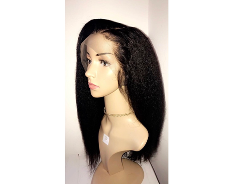 Image of Kinky Straight Full Lace 'Whitney' Wig