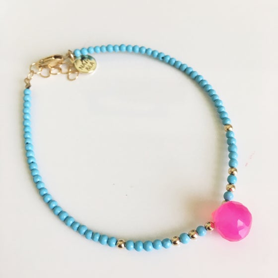 Image of Turquoise and Caicos bracelet
