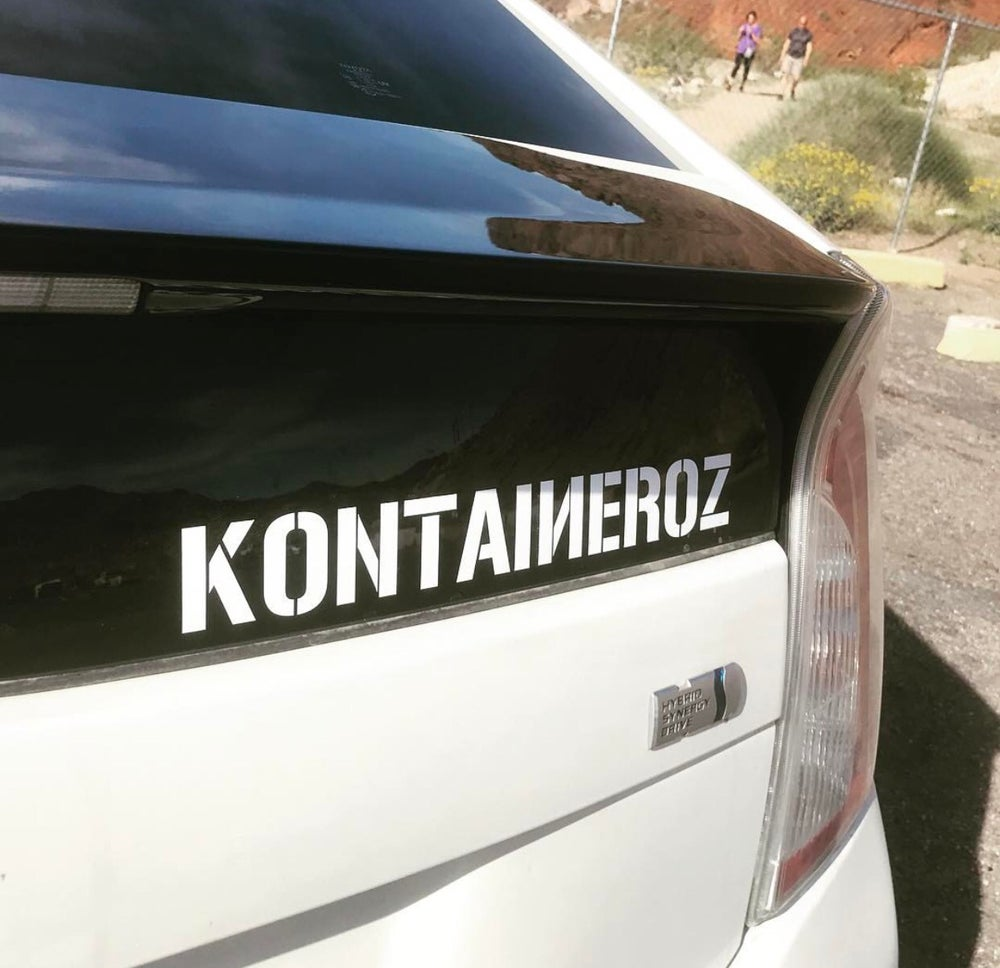 Image of KONTAINEROZ decals