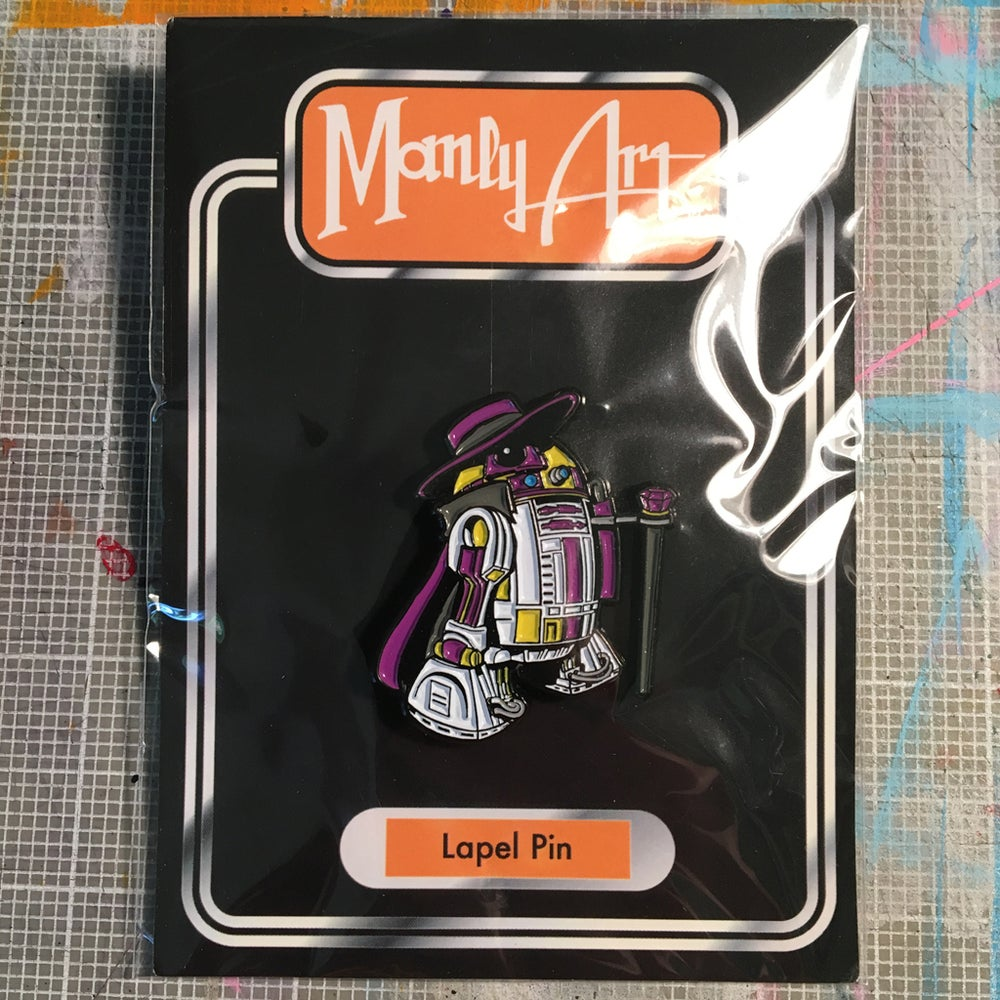 Image of Pimp2-D2 Enamel Pin