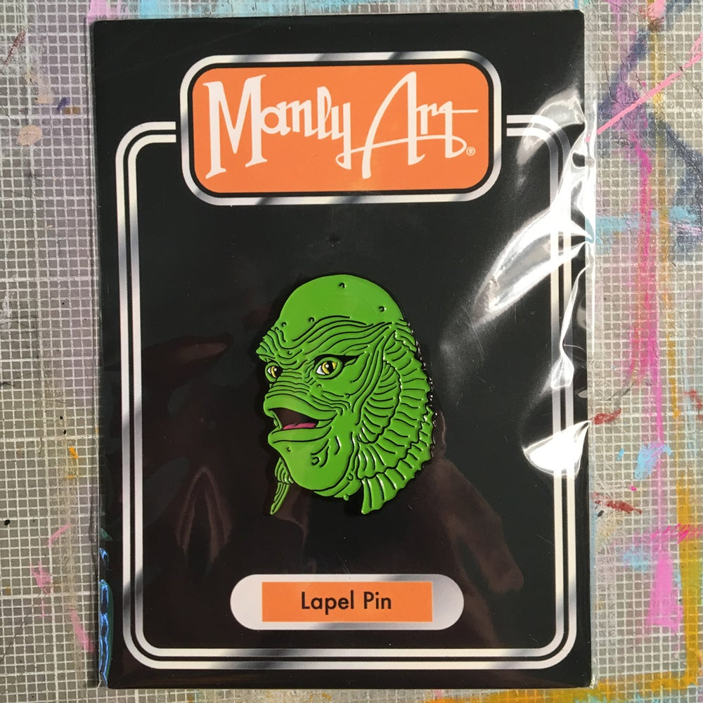 Image of Happy Creature Enamel Pin
