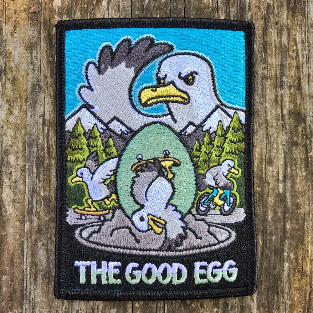 Image of The Good Egg Embroidered Patch